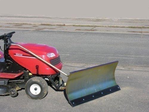 Husqvarna CTH135 verzinktes Schneeschild 118x50 cm für Rasentraktore ID 2196