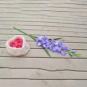 Floral DecorArtificial Gladiolus Flowers Flowers and Plants Bouquet 13″ Club Ornaments