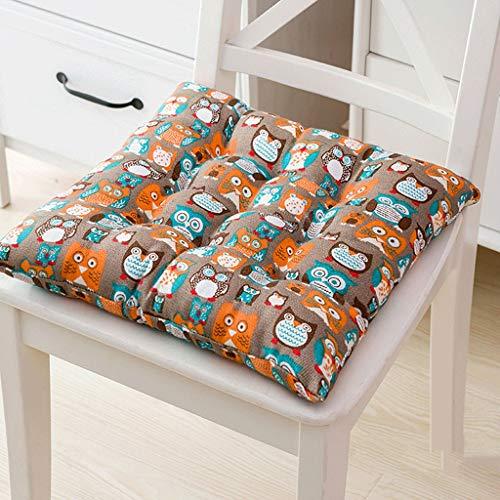 Sommer Stuhlkissen, Büro Sedentary Klassenschüler Männer Und Frauen Hocker Bodenmatte (Color : E, Size : 45 * 45CM)