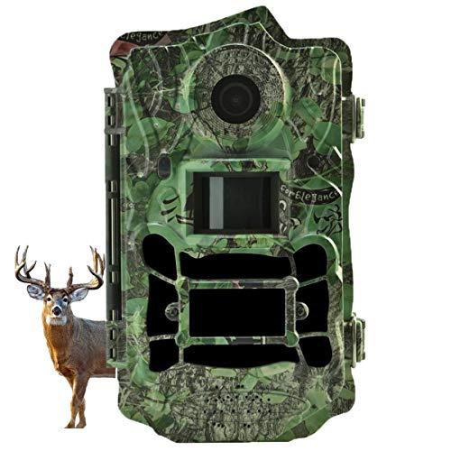 Wildkamera, 30MP 1080P HD Wildkamera mit Bewegungsmelder Nachtsicht, Wildtierkamera mit 940 nm IR-LEDs 30m und IP65 Wasserdicht Jagdkamera, für Tierbeobachtung und Heimüberwachung