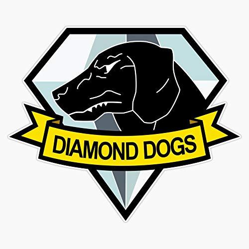 Metal Gear Solid - Diamond Dogs Insignia Sticker Vinyl Waterproof Sticker Decal Car Laptop Wall Window Bumper Sticker 5'