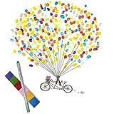 3 Set Keleily Palloncino Supporto Kit Supporto Palloncini Trasparente Supporti Bastoncini Palloncini per Matrimonio Compleanno Forniture per Feste
