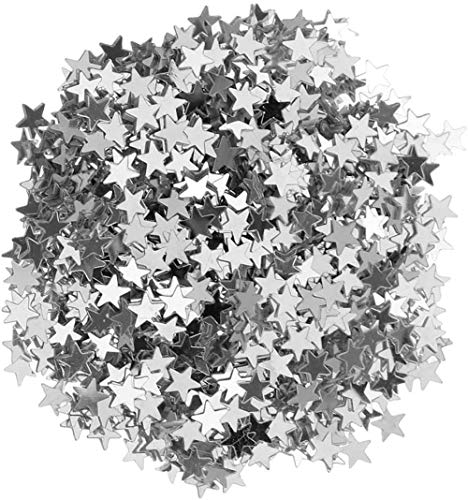 TXXM Toy 6/10mm 15g Sparkle Star Glitter Confetti Crafts Wedding Engagement Christmas Table Sprinkles Festival Party Supplies