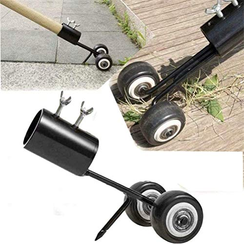 Amazing Deal Stand Up Weeder Weed Puller, Stainless Steel Tool Manual Weeder Hand Tool Crack and Cre...
