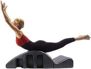 LEFJDNGB Yoga EPP Multi-Purpose Pula Arc Massage Bed, Black Yoga Massage Bed, Detachable Pilates Spine Corrector Foam Spinal Orthosis Shaping Fitness Equipment Relief Pain