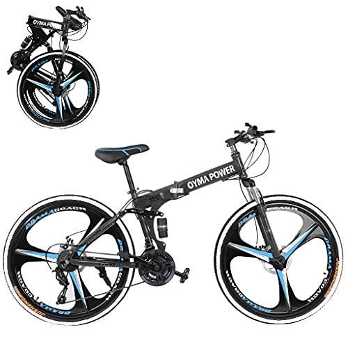Mountain Bike Portable 24 Inch Road Bike Fashion Gear Shift System Bicycle Mountain Bicycle Non-Slip Bike for Work School Urban Commuters