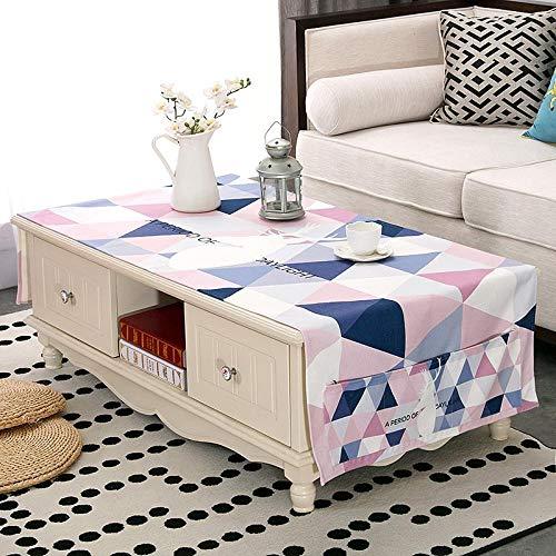 Creek Ywh tafelkleden voor terrasmeubels, tafelkleden voor feestjes, Nordic Ins salontafel waterdicht woonkamer tafelkleed stof TV-kast tafelkleed rechthoekig IKEA Mod
