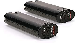 PowerGiant 7.2V 1.3Ah Battery Replacement for Makita 7000 7002 7033, 6010D 6018D 6073D 6172D DA3000D 6019D 9500D DA301D ML702 (2-Pack)