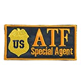 2AFTER1 US ATF Special Agent Federal Law Enforcement Marshal Embroidered Sew Iron on Patch
