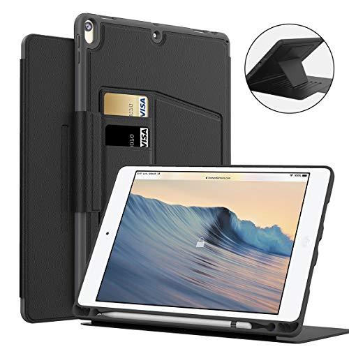MEYIFEN Funda para Nuevo iPad Air de 10.5 Pulgadas con Soporte de lápiz Apple Incorporado,Múltiples ángulos,activación/Reposo automático,Magnéticode para iPad Air 3.ª Generación 2019-Negro