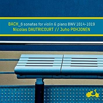 Bach: 6 Sonatas for Violin and Piano, BWV 1014-1019