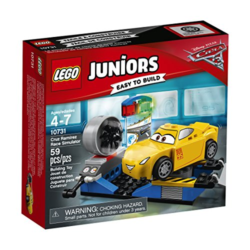 LEGO Juniors Cruz Ramirez Race Simulator 10731 Building Kit