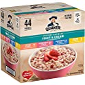 44-Count Quaker Instant Oatmeal Fruit & Cream Variety Pack
