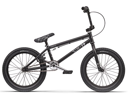 Bicicleta Bmx Wethepeople Curse 18, 2016, Ruedas de 18\', Negro Mate