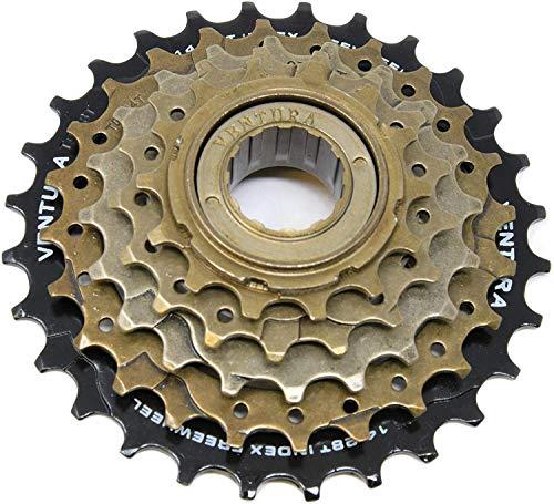 Ammaco. Ventura Bike Bicycle 5 Speed MTB Index Screw On Freewheel Sprocket Cog 14-28T