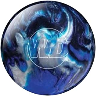 Bowlerstore Products White Dot Bowling Ball- Blue/Black/Silver