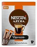 Nescafé Azera tipo Espresso, Café Instantáneo con granos de café Macinati, 25Sticks, 12338452