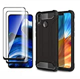 HAOTIAN Case for Honor 9X Lite Case + 2 Screen Protector,