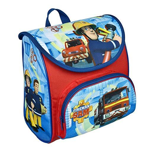Feuerwehrmann Sam Cutie Vorschulranzen - Rucksack für Kindergarten und Vorschule, mit Brustgurt, Kleiner, Leichter Schulranzen für Jungen und Mädchen