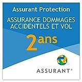 2 ans assurance dommage accidentel et vol pour une tablette de 250 EUR à 299,99 EUR
