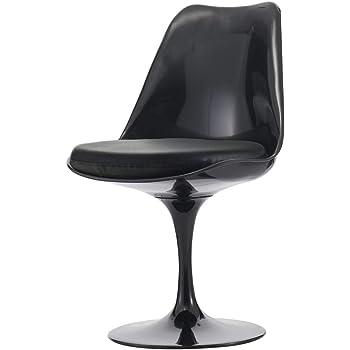 Eero Saarinen Chaise latérale de modèle de Tulipe Pourpre
