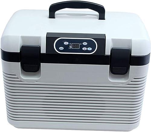 GUANHONG Réfrigérateur de Voiture 19L réfrigérateur de Voiture Double système congelé Mini-réfrigérateur de Voiture à Double Usage