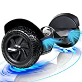 FLYING-ANT Hoverboard, 8.5 inch All Terrain Off Road Hoverboard with Bluetooth Speaker and LED Lights for Kids and Adults, UL2272 Certified