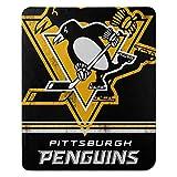 The Northwest Company NHL Pittsburgh Penguins 'Fade Away' Fleece Throw Blanket, 50' x 60' , Black