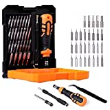 50% off Prime Deals 33 In 1 Mini Screwdriver Bits Set With Magnetic Precision Screw Driver Set with Flexible Shaft and Socket For Home Appliance Laptop Mobile tgComputer Repairing Preparations