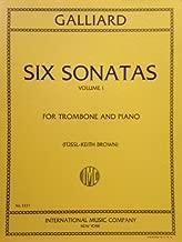 Galliard: Six Sonatas, Vol. 1, For Trombone and Piano