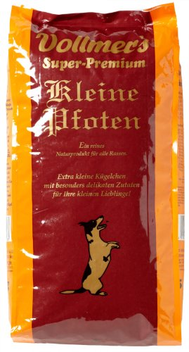 Vollmer's 37096 Hundefutter Kleine Pfoten 5 kg
