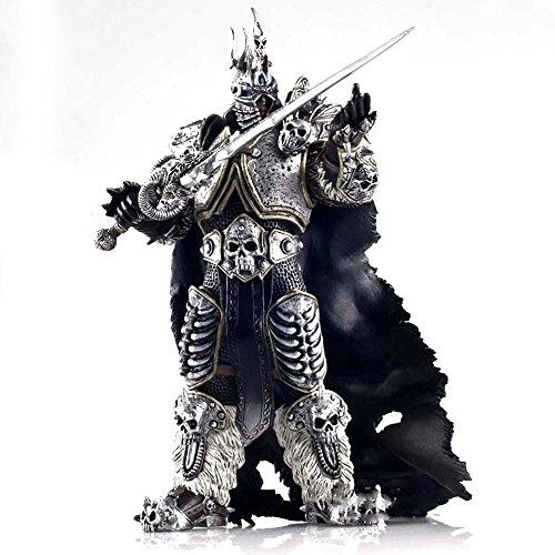 H¨¦ros de la sturm World of Warcraft König Ex¨nime Arthas Ritter des Todes Frostmourne Collecci¨®n Actionfigur, Modell 17,8 cm