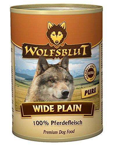Wolfsblut | Wide Plain | 6 x 395 g | Pferd | Nassfutter | Hundefutter | Getreidefrei