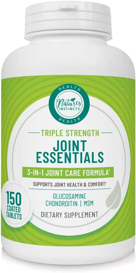 Nature's Instincts Joint Essentials 3-in-1 Strength Triple 25% OFF Max 77% OFF