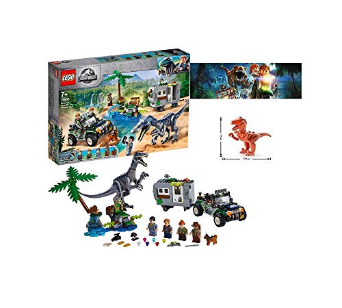 Lego 75935 - Set da costruzione + personaggio Lego Dinosauri