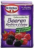 Dr. Oetker Gelierzucker für Beerenkonfitre