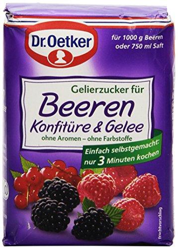 Dr. Oetker Gelierzucker für Beeren Konfitre, 500 g