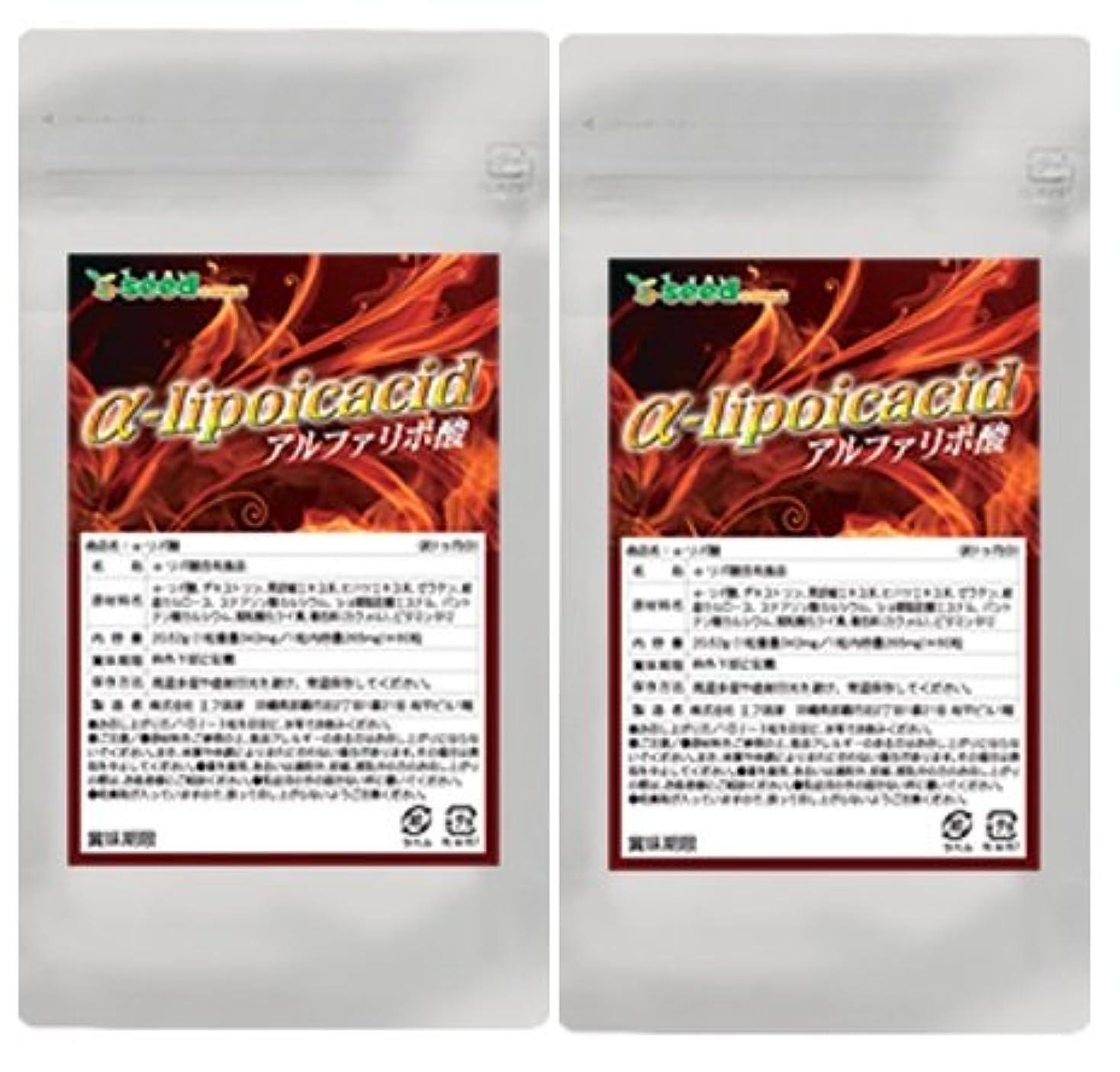 バックグラウンド名誉億α-リポ酸 (燃焼系ダイエットのサポート) (約6ケ月分)