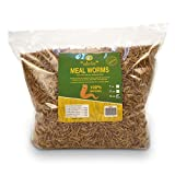 diig Non-GMO Dried Mealworms/Crickets/Black Soldier Fly - Treats for Birds Chickens Hedgeh...