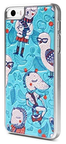 id America - Funda de cojín para iPhone 5 y 5S, diseño de Zorro