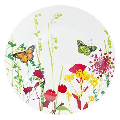 Table Passion - Assiette plate tutti fiori 26 cm (lot de 6)
