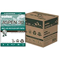 2,500 Sheets of Boise Aapen Letter Size Multi-Use Copy Paper