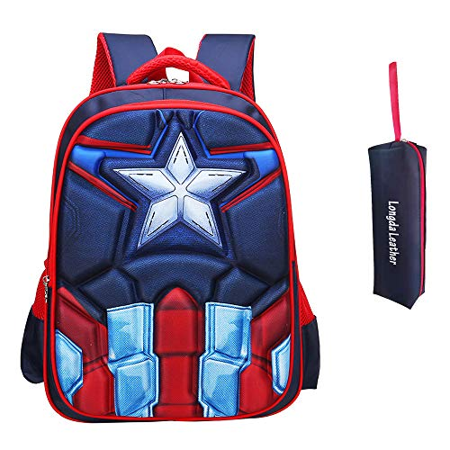 School Backpack for Boys Kids Schoolbag Student Bookbag Rucksack Waterproof Shoulder Bag...