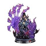 LINRUS Figuras Anime Uchiha Sasuke Anime Naruto Figura-Funko Pop Naruto Shippuden,Modelo de Personaj...