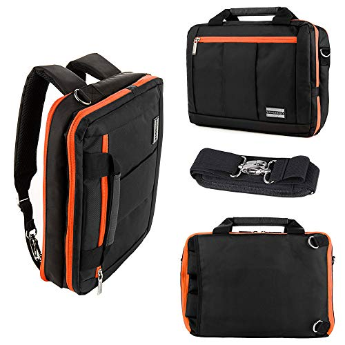 15.6 Inch Laptop Briefcase Waterproof Backpack Shoulder Bag Case for Dell XPS 17 XPS 15 Acer Aspire E 15 Lenovo ThinkPad P1 MacBook Pro 16 Inch