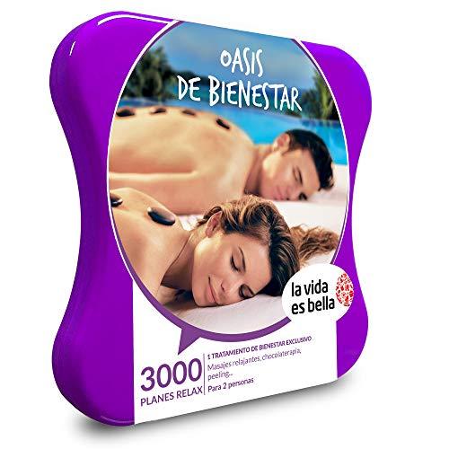 La vida es Bella Cadeaubox voor dames en heren, cadeau-idee, 3000 ontspannende plannen zoals massages, chocolade, peelings en spa