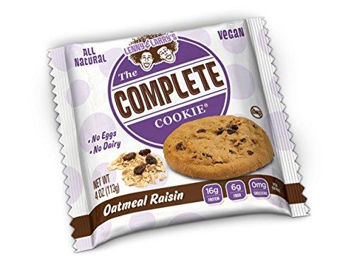 Lenny & Larry's Complete Cookie Proteinkeks Proteinriegel Eiweiß - Oatmeal Raisin - Haferflocken Rosinen 12x113 g