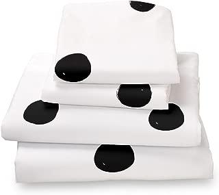 Best navy polka dot sheets queen Reviews