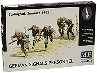 Masterbox 1:35 Scale German Signals Personnel, Stalingrad, Summer 1942 Figure by Masterbox