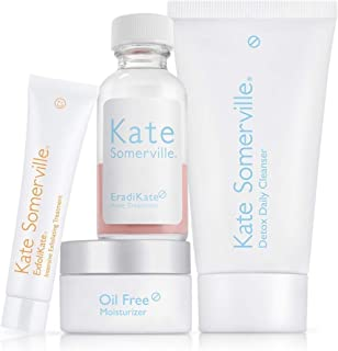 Kate Somerville Blemish Banisher Kit (4-Piece Kit) Four Targeted Treatments to Uncover a Clear Complexion and Reveal Smoother Skin for Oily and Acne-Prone Skin